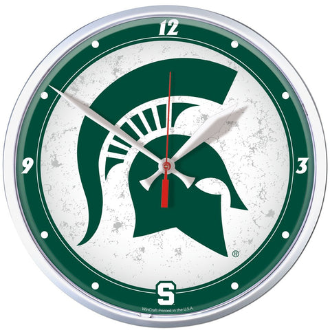 "Spartans NCAA Wall Clock 12.75"" - Fan Shop TODAY"