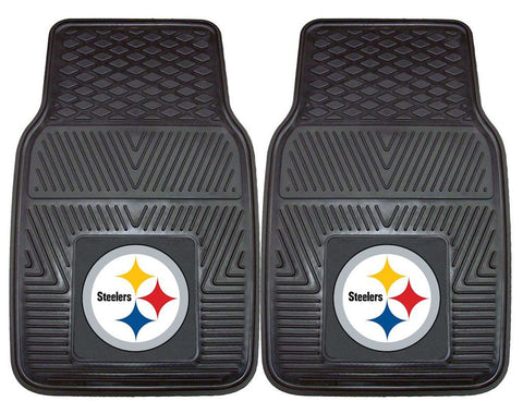 Steelers NFL Two-Piece Deluxe Car Mat Set - Fan Shop TODAY
