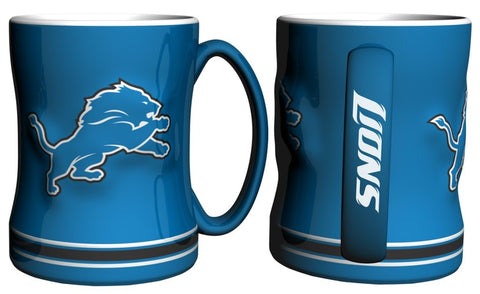 Lions NFL Coffee Mug - 14oz Sculpted Relief - Fan Shop TODAY