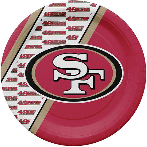 San Francisco 49ERS NFL Paper Plates (32 Count) - Fan Shop TODAY