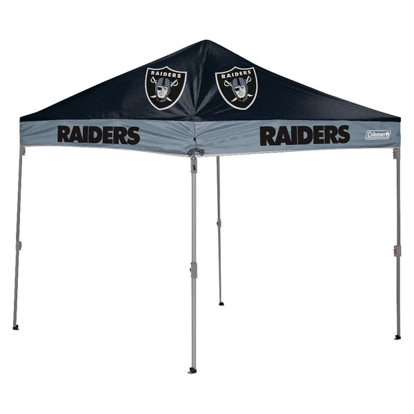 Oakland Raiders NFL Coleman 10' x 10' Straight Leg Tailgate Canopy - Fan Shop TODAY