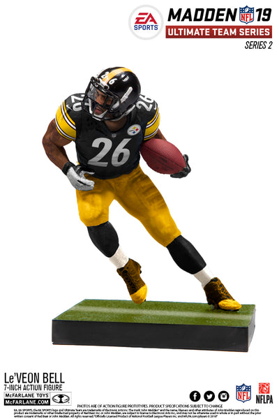 Pittsburgh Steelers Le'Veon Bell EA Sports Madden 19 Ultimate Team Series 2 - Fan Shop TODAY