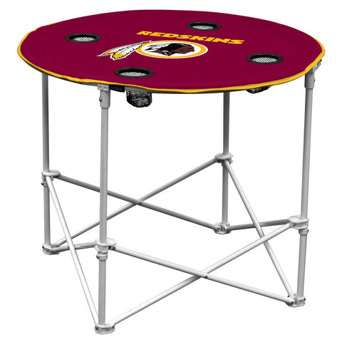 Redskins NFL Round Tailgate Table - Fan Shop TODAY