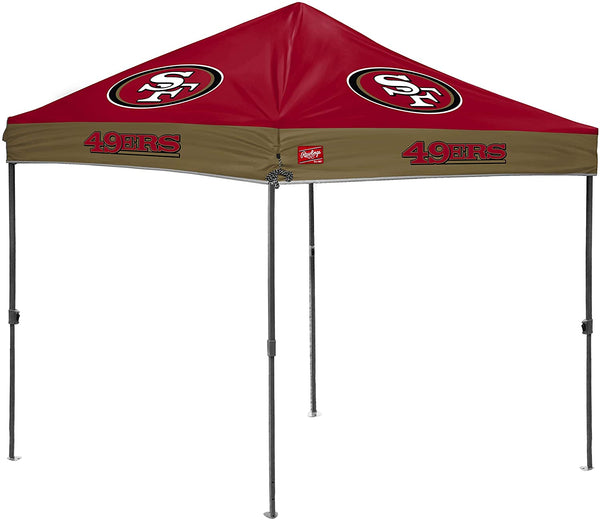 San Francisco 49ers NFL 10' x 10' Straight Leg Tailgate Canopy - Fan Shop TODAY
