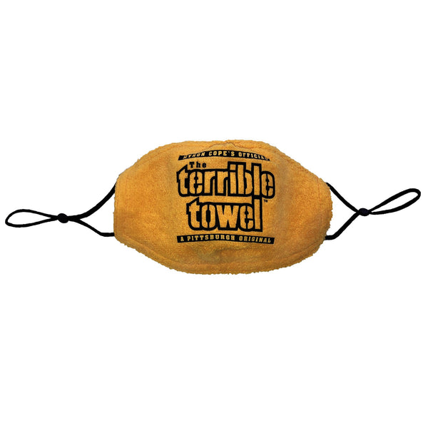 Pittsburgh Steelers Terrible Towel Face Covering - Fan Shop TODAY