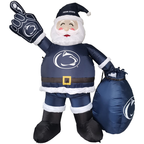 Penn State Nittany Lions 7' Inflatable Santa - Fan Shop TODAY