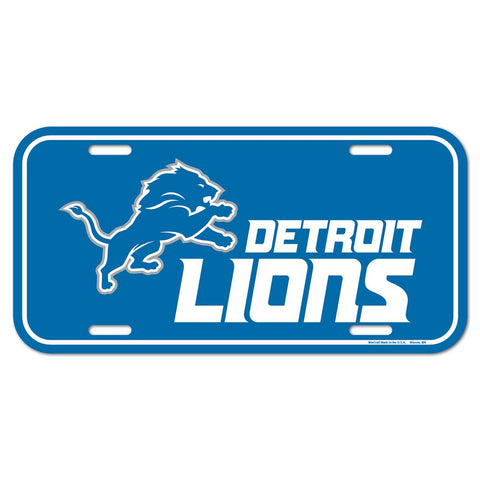 Lions NFL Metal License Plate - NEW! - Fan Shop TODAY