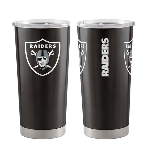 Raiders NFL Travel Tumbler 20 oz. Ultra Flared Black - Fan Shop TODAY