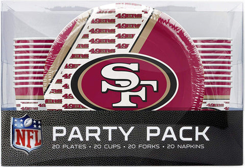 San Francisco 49ers NFL Party Pack - Fan Shop TODAY