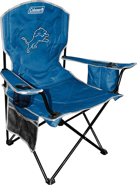 Detroit Lions Coleman XL Cooler Quad Chair - Fan Shop TODAY