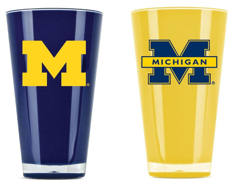 Wolverines NCAA 20 oz. Insulated Tumblers - 2 Pack Set - Fan Shop TODAY