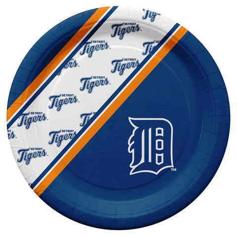 Detroit Tigers MLB Paper Plates 20 Pack - Fan Shop TODAY