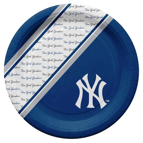 New York Yankees MLB Paper Plates 20 Pack - Fan Shop TODAY