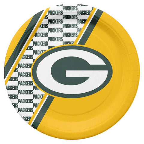 Packers NFL Paper Plates 20 Pack - Fan Shop TODAY