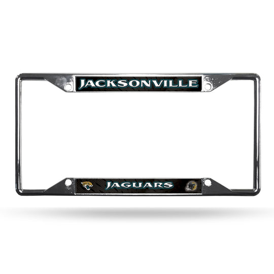 Jacksonville Jaguars License Plate Frame Chrome - Fan Shop TODAY