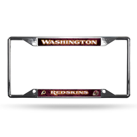 Redskins NFL Chrome License Plate Frame - Fan Shop TODAY