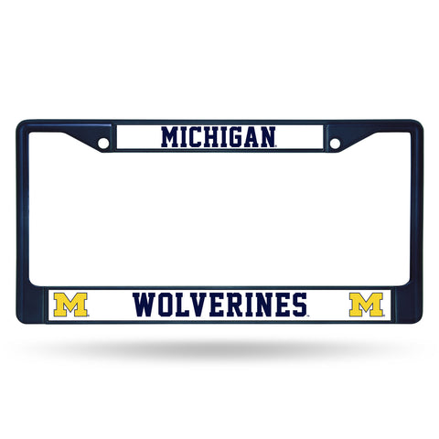 Wolverines NCAA Chrome License Plate Frame - Fan Shop TODAY