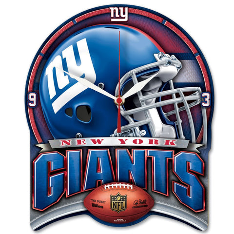 "Giants NFL HD Clock 13"" - Fan Shop TODAY"