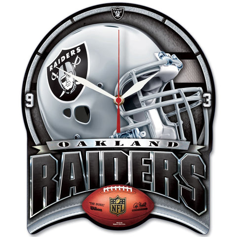 "Raiders NFL HD Wall Clock 13"" - Fan Shop TODAY"
