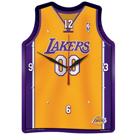 "Lakers NBA HD Wall Clock 13"" - Fan Shop TODAY"