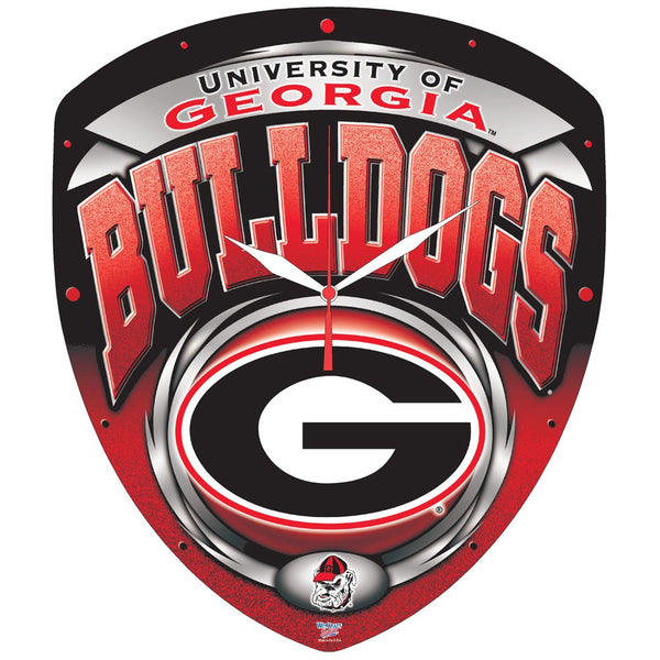 "Georgia Bulldogs NCAA HD Wall Clock 13"" - Fan Shop TODAY"