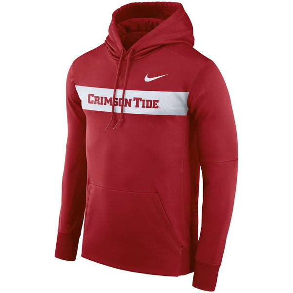 Alabama Crimson Tide Nike Sideline Therma Performance Hoodie - Fan Shop TODAY