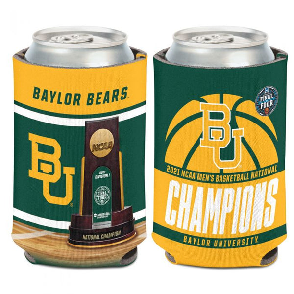 Baylor Bears 2021 NCAA National Champions Can Cooler 12oz. - Fan Shop TODAY