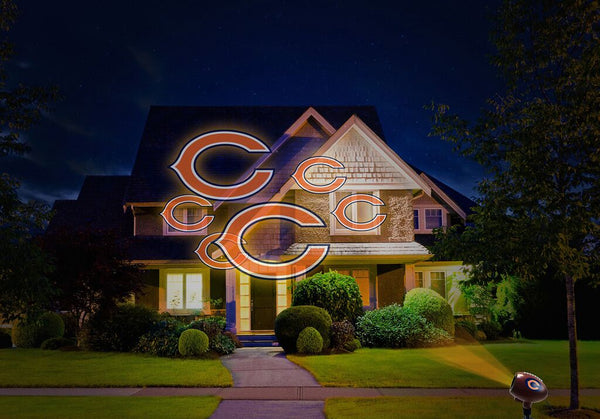 Chicago Bears NFL Team Pride Laser Light - Fan Shop TODAY