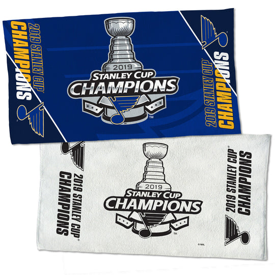 St. Louis Blues 2019 Stanley Cup Champions Locker Room 2-Sided Towel - Fan Shop TODAY