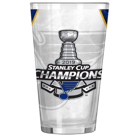 St. Louis Blues 2019 Stanley Cup Champions 16oz. Sublimated Pint Glass - Fan Shop TODAY