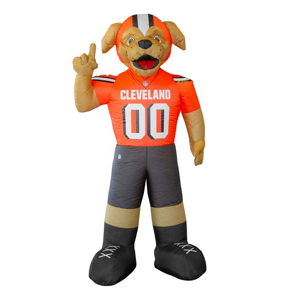 Cleveland Browns NFL Inflatable Mascot 7' - Fan Shop TODAY