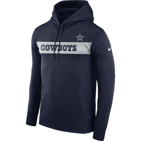 Dallas Cowboys Nike Sideline Therma Pullover Hoodie - Fan Shop TODAY