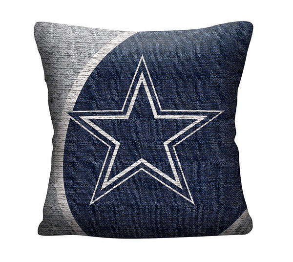 "Dallas Cowboys NFL Jacquard Pillow 20"" - Fan Shop TODAY"