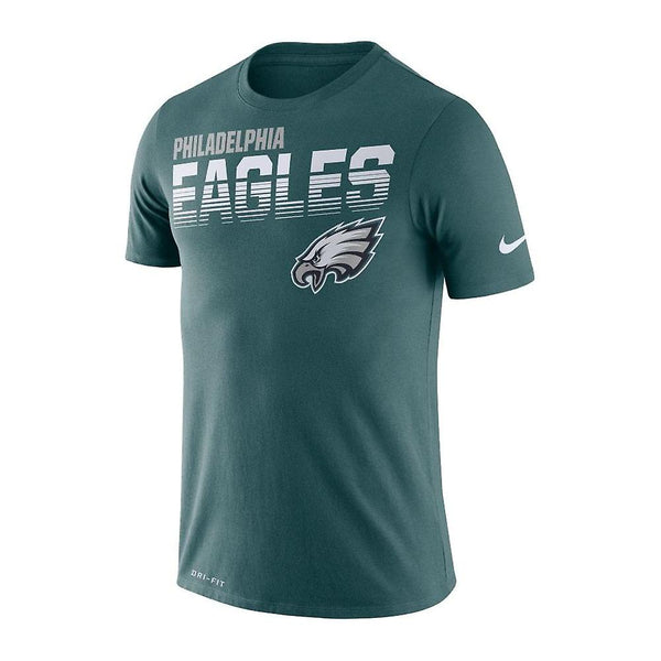 Philadelphia Eagles Nike Sideline Line of Scrimmage T-Shirt - Fan Shop TODAY