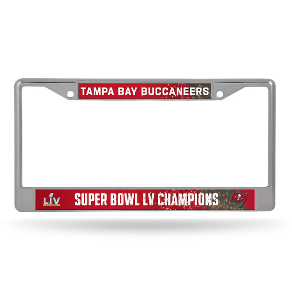 Tampa Bay Buccaneers Super Bowl LV Champions License Plate Frames - Fan Shop TODAY