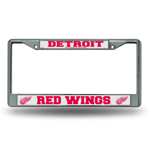 Detroit Red Wings NHL Chrome License Plate Frame - Fan Shop TODAY