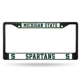 Spartans NCAA (Chrome) License Plate Frames - Fan Shop TODAY