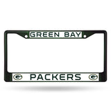 Packers NFL Chrome License Plate Frames - Fan Shop TODAY