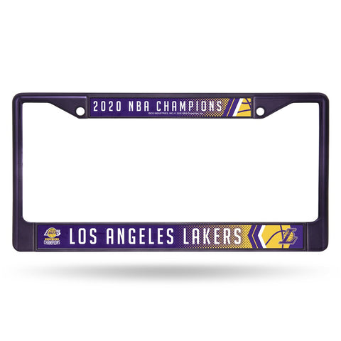 Los Angeles Lakers 2020 NBA Champions Plate frames - Fan Shop TODAY