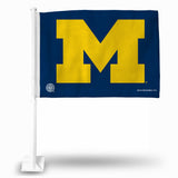 Wolverines NCAA Fan Flags (Car Flags) - Fan Shop TODAY