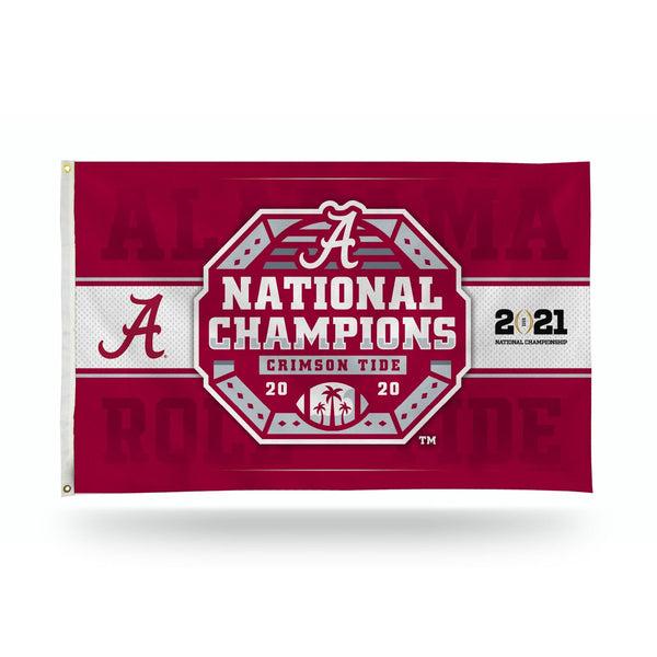Alabama Crimson Tide 2020 National Champions 3×5 Banner Flag - Fan Shop TODAY