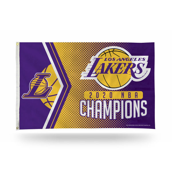 Los Angeles Lakers 2020 NBA Champions 3' x 5' Banner Flag - Fan Shop TODAY