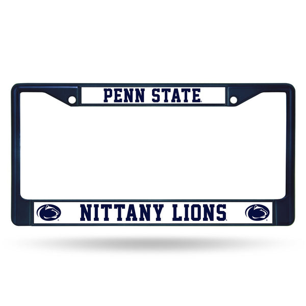 Penn State Nittany Lions NCAA Chrome License Plate Frame - Fan Shop TODAY
