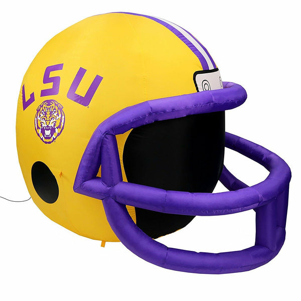 LSU Tigers NCAA Team Inflatable Lawn Helmet - Fan Shop TODAY