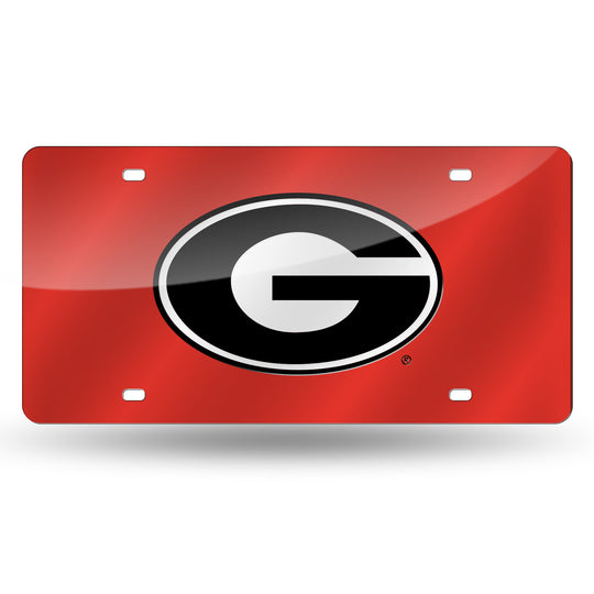 Georgia Bulldogs NCAA Laser Tag License Plates - Fan Shop TODAY