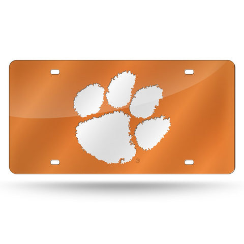 Clemson Tigers NCAA Mirror License Plate (Orange) - Fan Shop TODAY