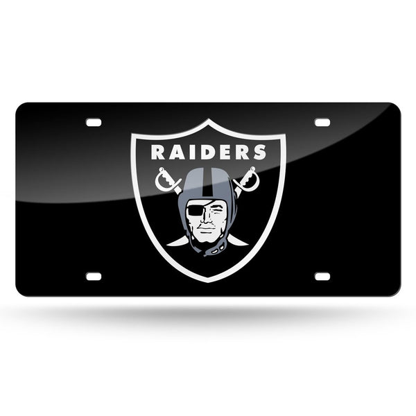 Raiders NFL Mirror License Plates - Fan Shop TODAY