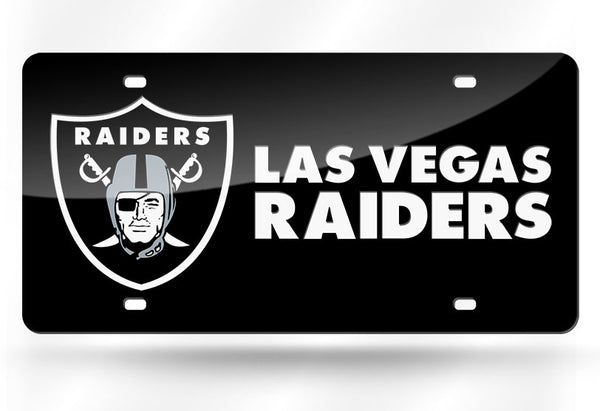 Las Vegas Raiders NFL Mirror License Plates - Fan Shop TODAY