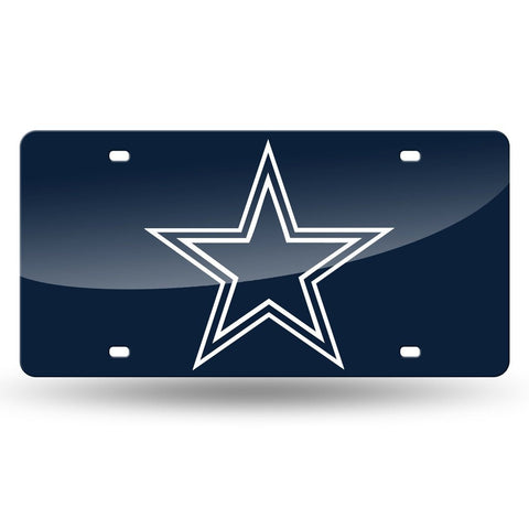 Cowboys NFL Mirror License Plate (Blue) - Fan Shop TODAY