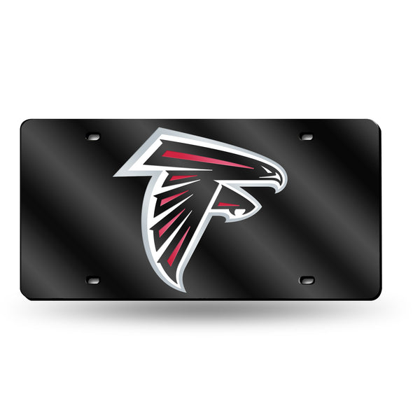 Falcons NFL Mirror License Plate (Black) - Fan Shop TODAY
